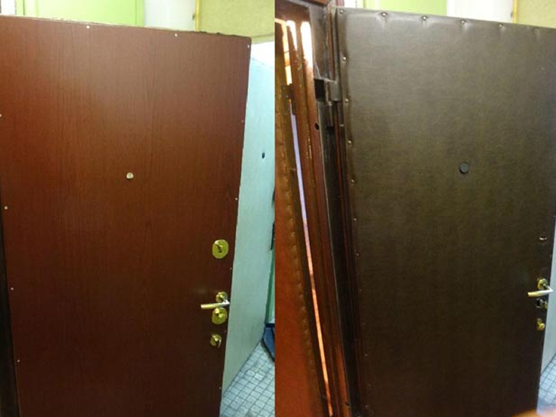 продать металлическую дверь