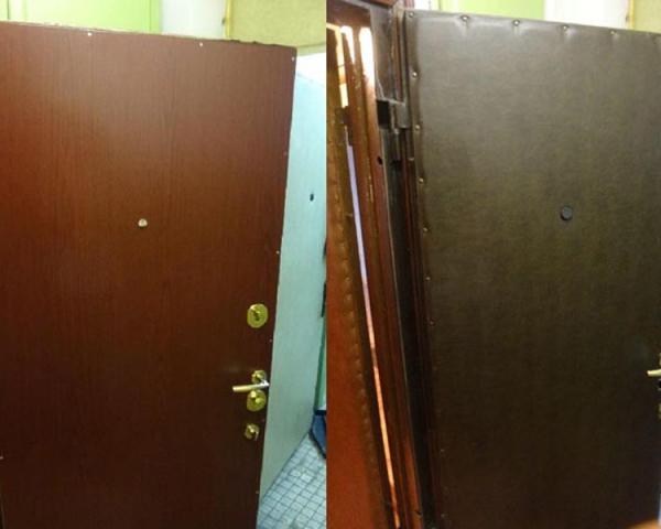 Вывоз металлической двери